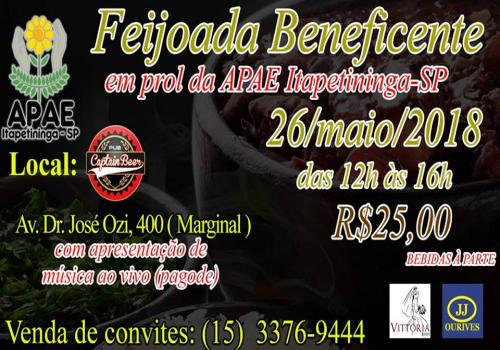 Feijoada Beneficente Captain Beer
