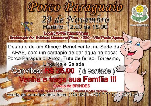Tradicional Porco Paraguaio 2015