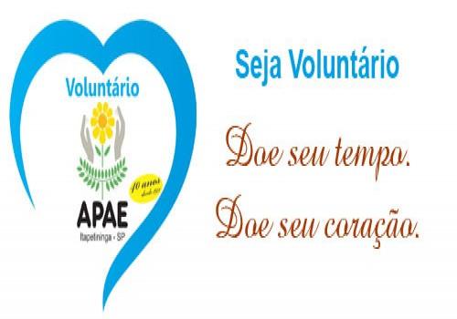 Seja um Voluntário, Participe!