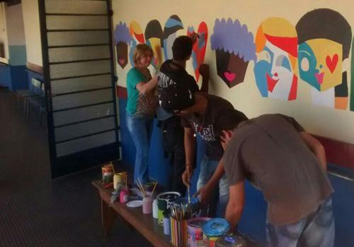 Projeto Pintando a Escola